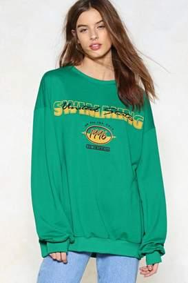 Nasty Gal So Bold Oversized Sweater