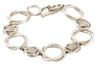 David Yurman Diamond Infinity Link Bracelet