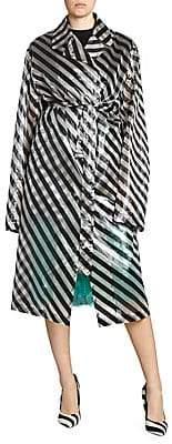 Dries Van Noten Women's Transparent Striped Jacket