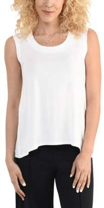 Fruit of the Loom Women's Shell Tank with Back Split, Available in sizes up to 2XL