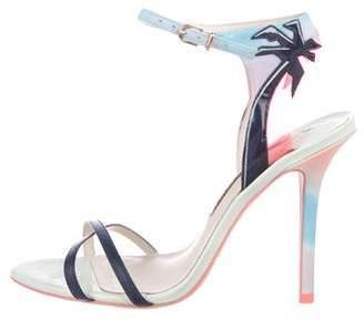 Sophia Webster Multicolor Ankle Strap Sandals