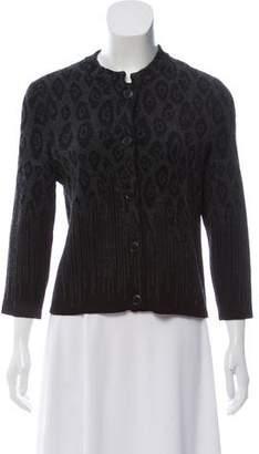 Salvatore Ferragamo Wool-Blend Knit Cardigan