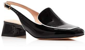 0e00d23fb9d Kate Spade Women s Sahiba Block Heel Slingback Loafers