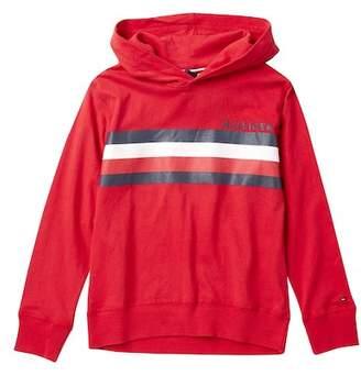 Tommy Hilfiger Signature Stripe Pullover Sweater (Big Boys)