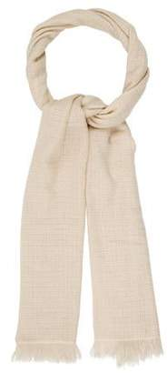 Etoile Isabel Marant Wool Raw-Edge Scarf