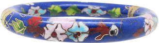 One Kings Lane Vintage Blue CloisonnA Bangle - Thanks for the Memories