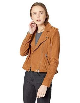 Lucky Brand Women's Suede Moto Jacket