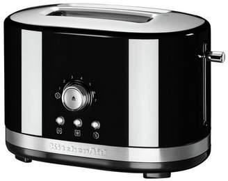 KitchenAid Manual Control 2 Slice Toaster - Onyx Black