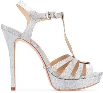 Schutz T-bar glittery sandals