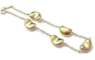 Tiffany & Co. Elsa Peretti 18K Yellow Gold Bean Bracelet