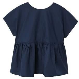 MANGO Ruffle bow blouse