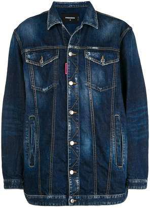DSQUARED2 Be Nice oversized denim jacket