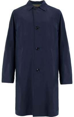 Moncler single-breasted trench coat