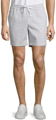 Core Life Printed Stretch Cotton Shorts
