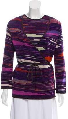 Christian Lacroix Patterned Wrap Cardigan Set