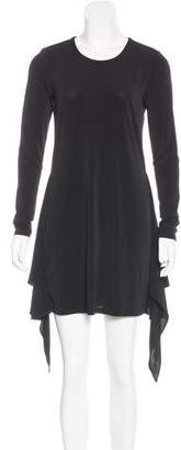 Rachel Zoe Draped Long Sleeve Dress w/ Tags