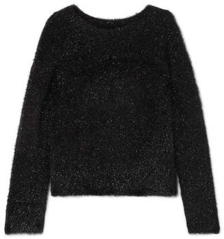 Vince Lurex Sweater - Black