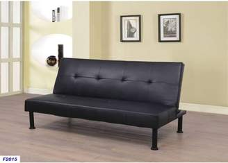 Beverly Fine Furniture Enzo Convertible Futon Sofa Bed, Multiple Colors