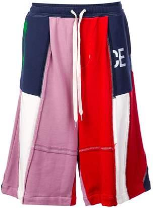 Puma Maison Yasuhiro patchwork shorts