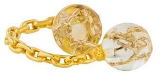 Louis Vuitton Inclusion Bubbles Cocktail Ring