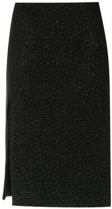 Tufi Duek side slit skirt