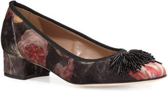 Sesto Meucci Flynn Ornament Floral Pumps, Multi
