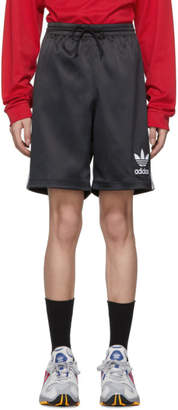 adidas Black Satin Shorts
