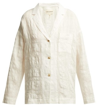 Mara Hoffman Eleanor Cotton Blend Shirt - Womens - White