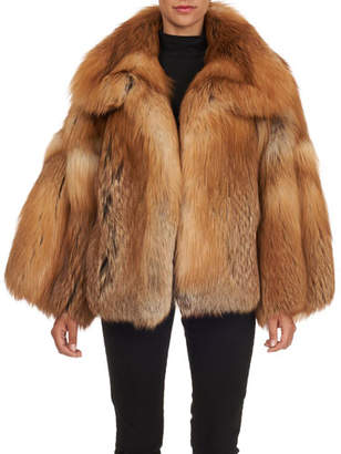 Oscar de la Renta Fox Fur Jacket