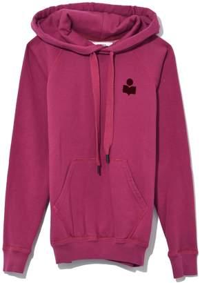 Etoile Isabel Marant Malibu Sweatshirt in Raspberry