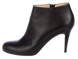Christian Louboutin Leather Ankle Booties