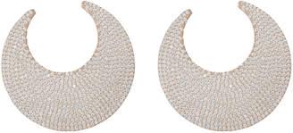 Nickho Rey Musto Crystal Embellished Hoop Earrings