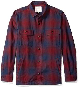 Goodthreads Men's Heavyweight Flannel Shirt Jacket