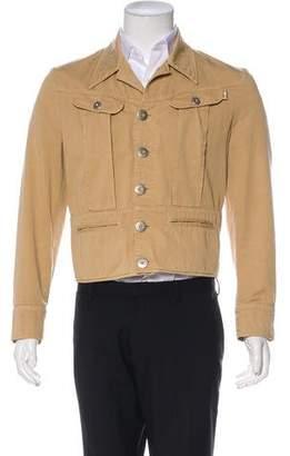 Jean Paul Gaultier Twill Utility Jacket