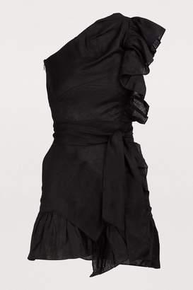 Etoile Isabel Marant Teller linen dress