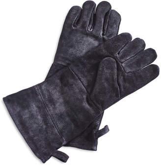 Sur La Table Black Leather Grill Gloves