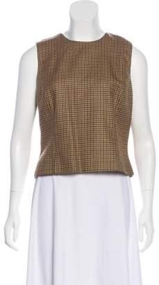 Michael Kors Wool Sleeveless Top