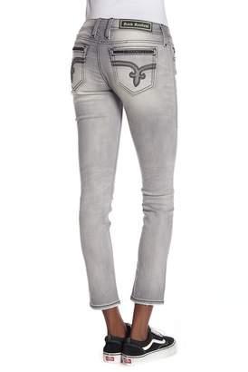 Rock Revival Shae Distressed Skinny Jeans
