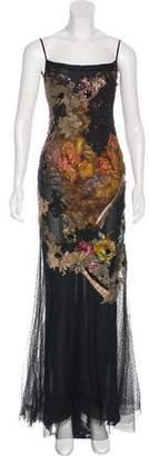 Elie Saab Embellished Evening Dress