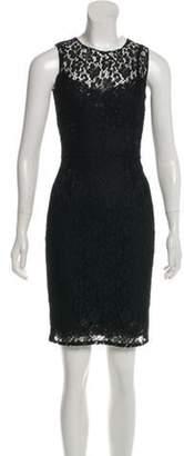 Dolce & Gabbana Lace Sheath Dress Black Lace Sheath Dress