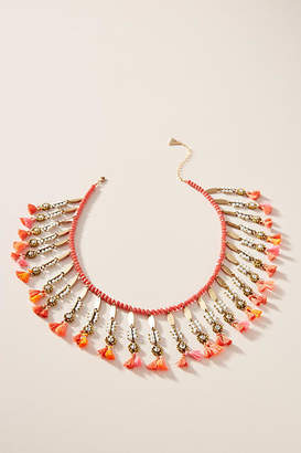 Anthropologie Eliza Bib Necklace