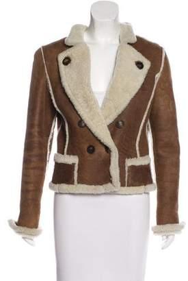 Oscar de la Renta Vintage Shearling Jacket