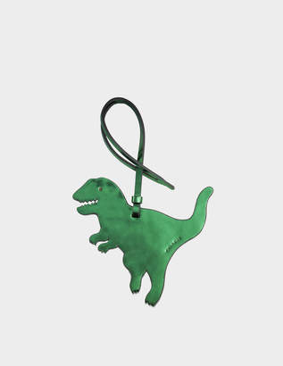 Coach Rexy Ornament Charm Bag Accessory in Green Calfskin