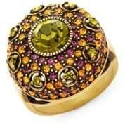 Heidi Daus Swarovski Crystal Infusion of Color Cocktail Ring