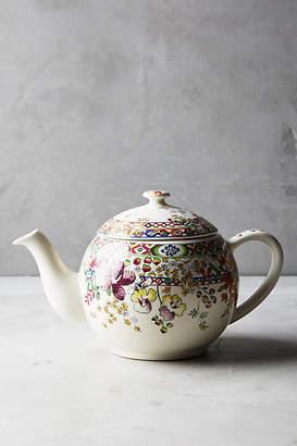 Gien Faiencerie De  Bagatelle Teapot