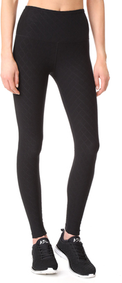 Beyond Yoga Can't Quilt You High Waisted Long Leggings $99 thestylecure.com