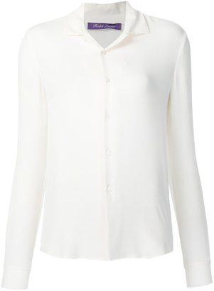 Ralph Lauren 'Magdalena' georgette blouse $1,281 thestylecure.com