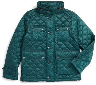 Boy's Burberry Halesworth Quilted Field Jacket $350 thestylecure.com