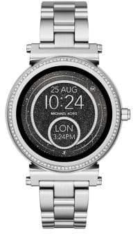 Michael Kors Sofie Stainless Steel Touchscreen Bracelet Smartwatch
