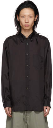 Comme des Garcons Black Cupro Shirt